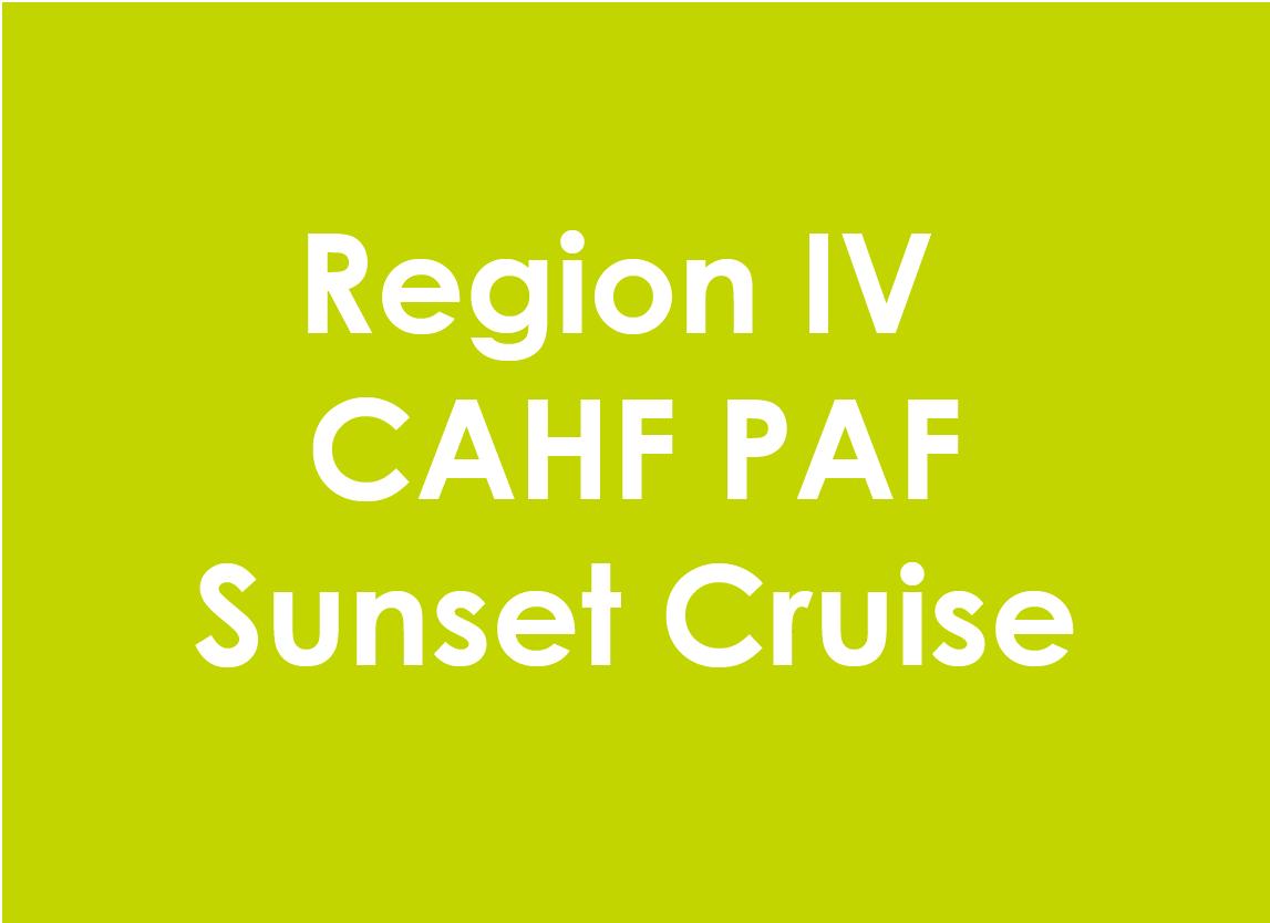 Region IV Sunset Cruise