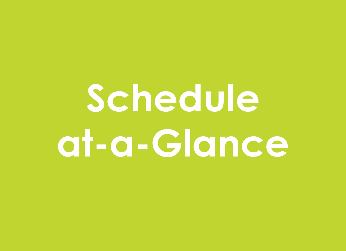 Schedule-at-a-Glance