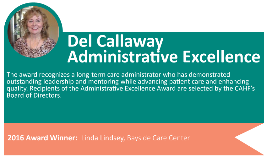 Del Callaway Administrative Excellence Award