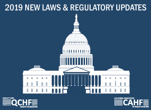 2019 New Laws & Regulatory Updates