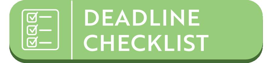 deadline checklist