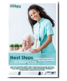 next steps in your care pamphlet for consumers